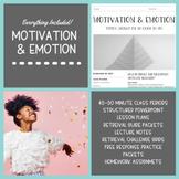 Motivation & Emotion Unit Bundle (45-50 Minute Periods)