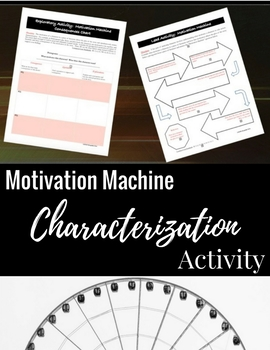 Character Motivation: Literary Elements & Writing Analysis {COMMON CORE}