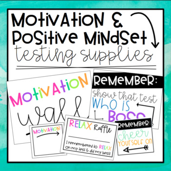 Motivation & Positive Mindset Testing Incentives