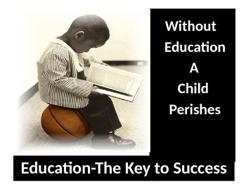 Urban Motivational Poster #3-Desk Top Education-The Key To