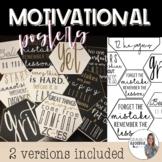 Motivational Posters (classroom decor)- - (Volume 1)