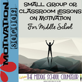 #sweetcounselor Motivation Lesson Executive Functioning Bundle