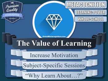 Motivation [Why Study?] (Metacognition)