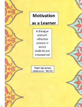 Motivation as a Learner
