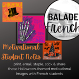 Motivation for French Students : Halloween Theme