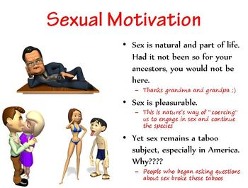 Motivation for Sexuality, Needs, and Work PowerPoint