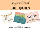 Motivational Bible Quotes-Posters