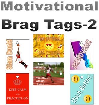 Motivational Brag Tags- Set 2