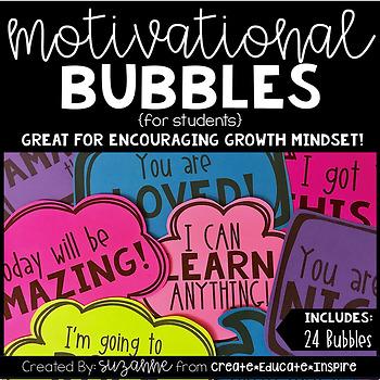 Motivational Bubbles (for students)