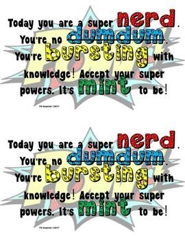 Motivational Testing Cards