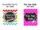Motivational Candy Jar Labels