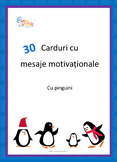Motivational Cards with Penguins, Carduri cu mesaje in lim