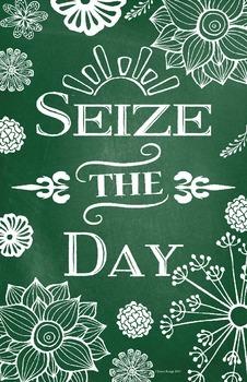 Motivational Classroom Poster 11 x 17