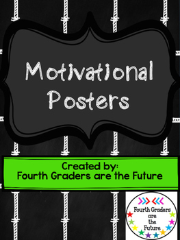 Motivational Classroom Poster Set