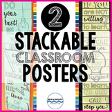 Motivational Classroom Posters – Classroom Decor Motivational Posters
