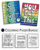 Coloring Pages Bundle