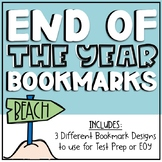Test Prep/End of Year Activity - Motivational Coloring Bookmarks