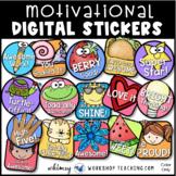 Motivational Digital Stickers Clip Art