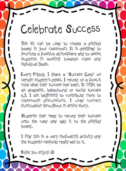 Motivational Display Wall - Celebrate Success