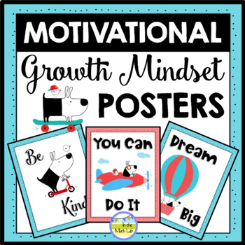 Motivational | Growth Mindset Posters