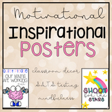 Motivational Inspiration Posters for SATS, Testing and Mindfulness