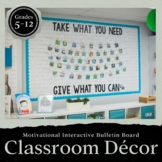Motivational Interactive Bulletin Board: Extreme Makeover Classroom Edition