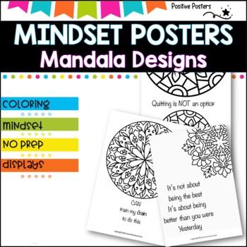 Mandala mindset Poster pack