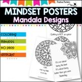 Mindset pack. Mandala Posters