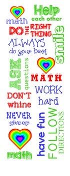 Motivational Math Poster