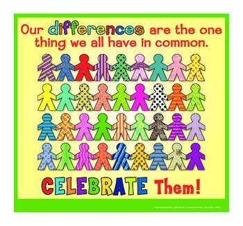 Motivational Message - Celebrate Differences