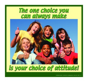 Motivational Message - Choice Of Attitude