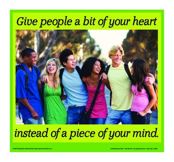 Motivational Message - Give A Bit Of Your Heart