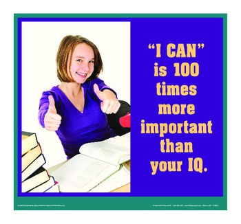 Motivational Message - I Can