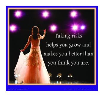 Motivational Message - Risks Help You Grow