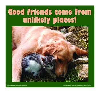 Motivational Message - Unlikely Places
