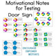 Testing Note Cards Motivational   (No Treats Required)