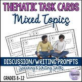Mixed Topics Conversation Starters/Writing Prompts for Teens