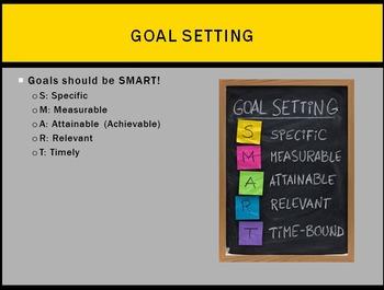 Motivational People and Goals Lesson BUNDLE