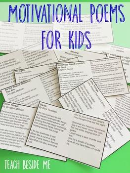 Motivational Poems for Kids