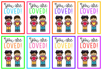 Motivational/Positive Gift Tags (Rainbow Theme)