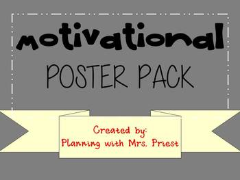 Motivational Poster Pack