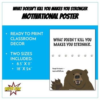 Motivational Poster (18'' x 24'')
