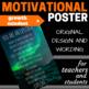 Motivational Poster BUNDLE - 4 Original Posters