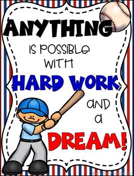 Motivational Poster: Baseball