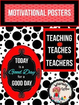 Motivational Poster - Black n' White