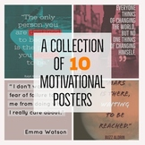 Motivational Poster Bundle - Inspirational - Growth Mindse