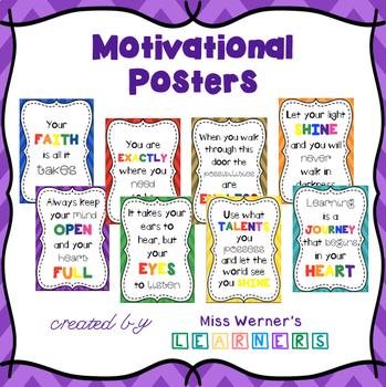 Motivational Poster Pack