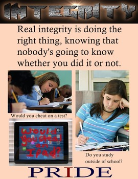 Motivational Poster: Real Integrity