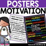 Motivational Posters Classroom Decor