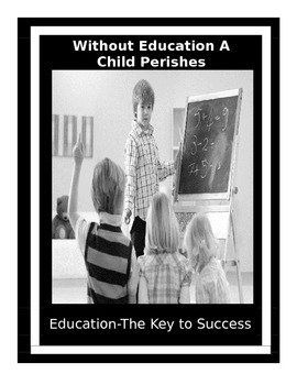 10 Motivational Posters (Education-The Key to Success)  Series